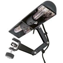 K&M kottapult világítás, kottaolvasó lámpa, 2 izzós