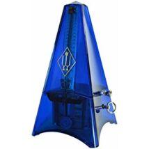 Wittner metronóm Piramis átlátszó, több színben - kék, haranggal (ütemcsengővel)