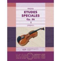 Mazas J.,F.: Speciális etűdök 1. op.36 (hegedű)