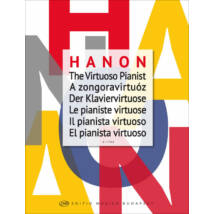 Hanon: A zongoravirtuóz, ujjgyakorlatok