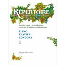 Sármai J.: Repertoire zeneiskolásoknak - Zongora 1.
