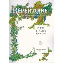 Sármai J.: Repertoire zeneiskolásoknak - Zongora 3.