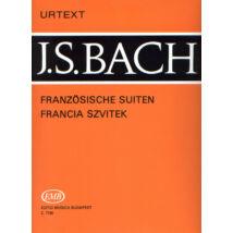 Bach J.S.: Francia szvitek (zongora)