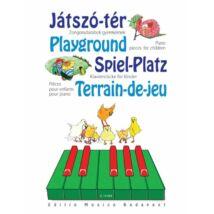 Játszó-tér- Zongoradarabok gyermekeknek