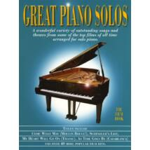 Great Piano Solos: The Film Book (Zongora)