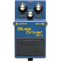 Boss BD-2 Blues Driver gitáreffekt, torzító pedál