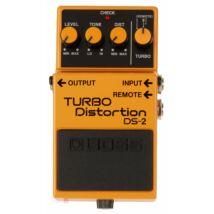 Boss DS2 gitáreffekt pedál, torzító, turbo distortion