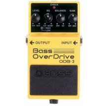 Boss ODB-3 basszusgitár effektpedál, torzító overdrive