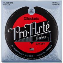 Daddario EJ45FF Pro Arté Normal Tension - klasszikus gitár húrkészlet, karbon