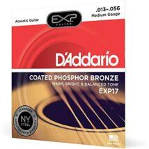 Daddario EXP17 13-56 western gitár húrkészlet, bevonatos