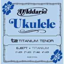 Daddario EJ87T Tenor Ukulele Titanium - ukulele húrkészlet