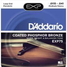 Daddario EXP75  - mandolin húrkészlet, bevonatos