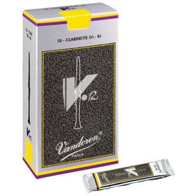 Vandoren Bb klarinét nád, V12  2,5