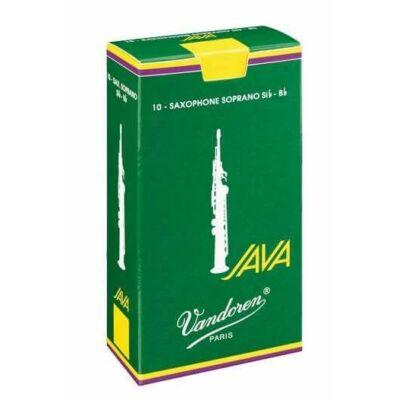 Vandoren szoprán szaxofon nád, Java 2