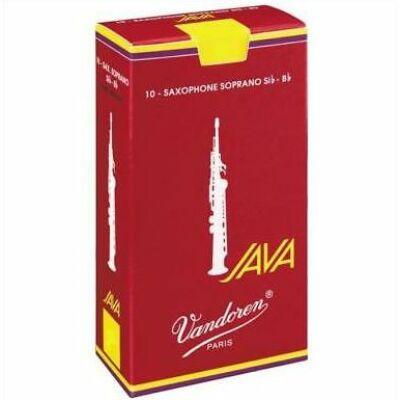 Vandoren szoprán szaxofon nád, Java red cut 2