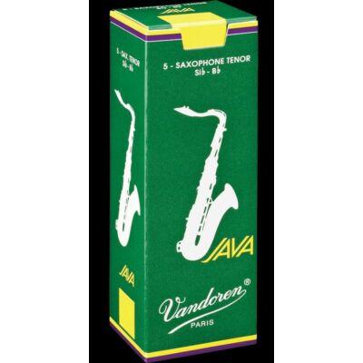 Vandoren tenor szaxofon nád, Java 2,5 (5db-os)