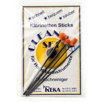 hanglyuk tisztító szivacsos pálca készlet REKA klarinét/ oboa/ fagott
