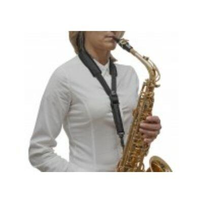 """BG alt / tenor szaxofon XL """"Large"""" széles, bélelt pánt heveder,  nyakpánt"""