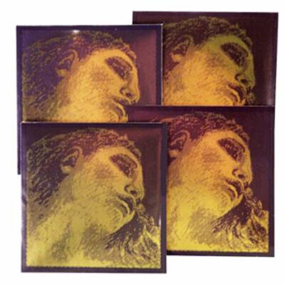Hegedűhúr Pirastro Evah Pirazzi Gold készlet E gombos G silver