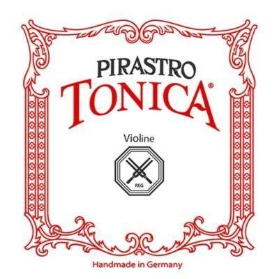 Hegedűhúr Pirastro Tonica E gombos ezüst