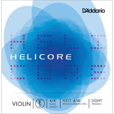 Hegedűhúr D'addario Helicore E light (ónozott acél)