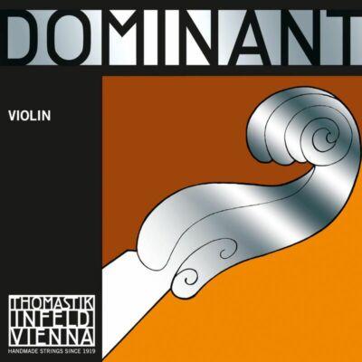Hegedűhúr Thomastik Dominant készlet (E alu=sodrott) medium