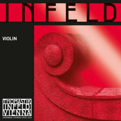 Hegedűhúr Thomastik Infeld Rot E aranyozott krómacélszál