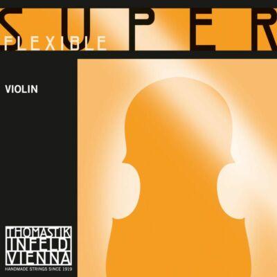 Hegedűhúr Thomastik Superflexible (Künstler) E króm