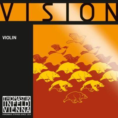 Hegedűhúr Thomastik Vision G ezüst light