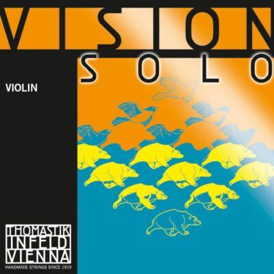 Hegedűhúr Thomastik Vision solo készlet (VIS03A ezüst D-vel)