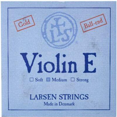 Hegedűhúr Larsen E arany, gombos, medium