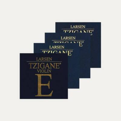 Hegedűhúr Larsen TZIGANE készlet, gombos, soft