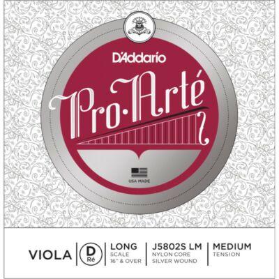 Brácsahúr D'addario Pro Arte D (perlon, ezüstbev.)
