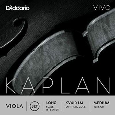 Brácsahúr D'addario Kaplan Vivo készlet long