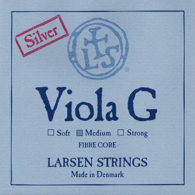 Brácsahúr Larsen G ezüst, medium hosszú (420mm)