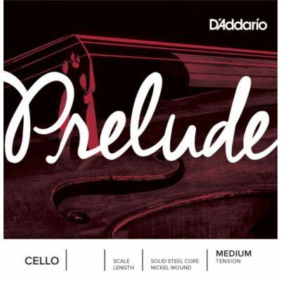 Csellóhúr D'addario Prelude A (acél, nikkelbev.) medium/heavy