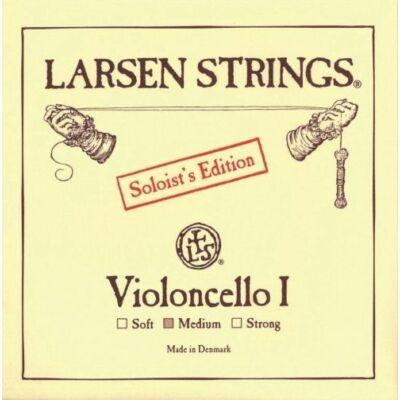 Csellóhúr Larsen A Solo króm medium