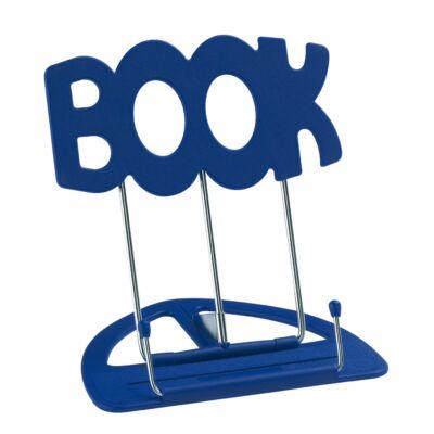 K&M asztali könyv-és kottaállvány, műanyag (Book) - kék