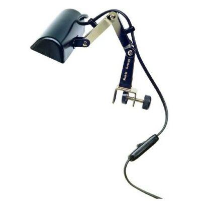 K&M kottapult világítás, kottaolvasó lámpa, 1 izzós