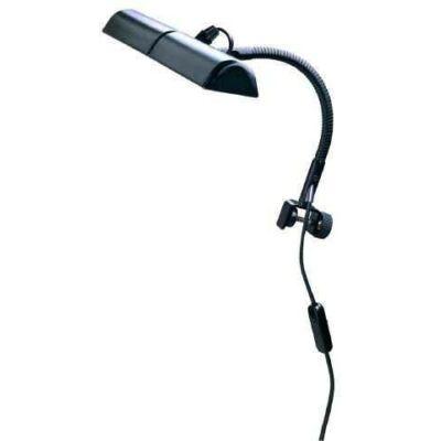 K&M kottapult világítás, kottaolvasó lámpa, hattyúnyakkal nagy, 2 izzós