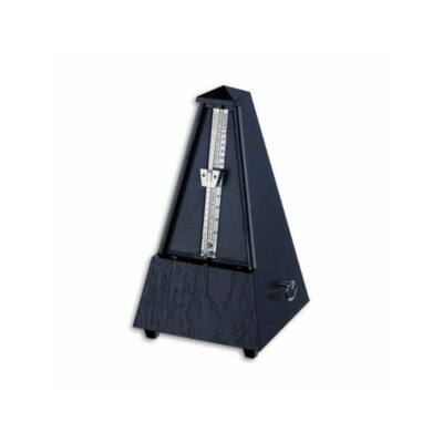 Wittner metronóm Piramis fekete, haranggal (ütemcsengővel)