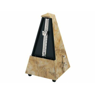 Wittner metronóm Piramis márványmintás, haranggal (ütemcsengővel)