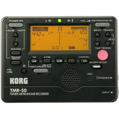 Korg TMR-50 metronóm és hangoló mikrofonnal