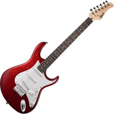 Cort G100-OPBC - elektromos gitár, cseresznye szín