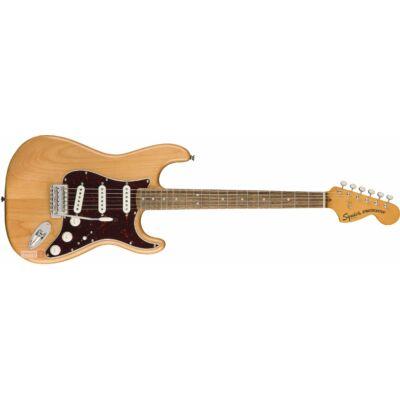 Fender SQ Classic Vibe 70s Stratocaster LRL elektromos gitár, Natural