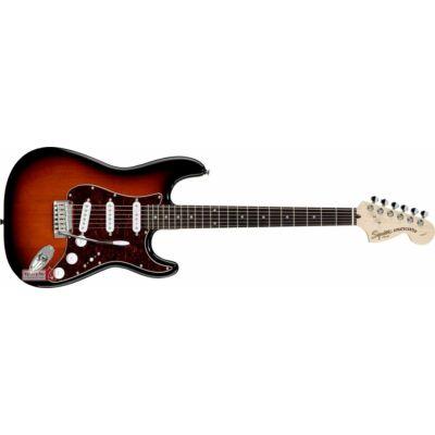 Fender SQ Std. Stratocaster LRL elektromos gitár, Antique Burst