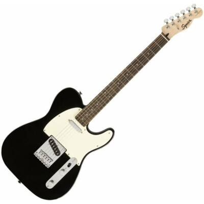Fender SQ Bullet Telecaster LRL elektromos gitár, Black