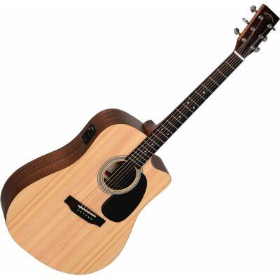 Sigma DMC-STE Plus akusztikus western gitár elektronikával