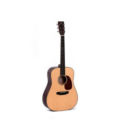 Sigma DM-18 Plus akusztikus western gitár, fémhúros