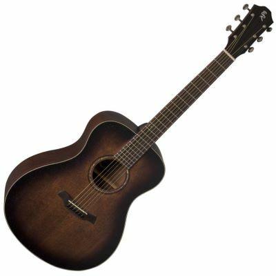 Baton Rouge akusztikus western gitár, fémhúros széles nyakkal, Tiny Jumbo